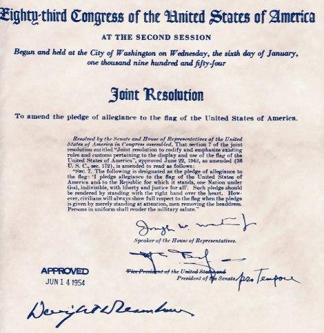pledge1954