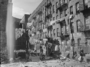 N.Y. Slum 1950