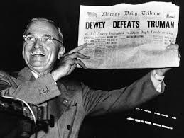 Truman with Headline