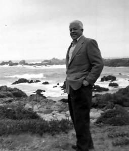 George Koch on the California Coast