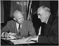 Eisenhower and John Foster Dulles
