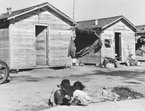 Farm Worker Housing Central Valley, 1960