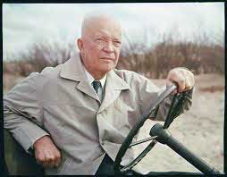 Eisenhower Returning the Normandy Beaches
