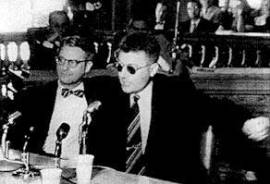 William Mandel Testifying before HUAC, San Francisco, 1960